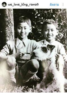 young princes (later King Rama VIII & King Rama IX)