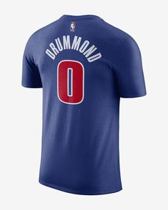 Andre Drummond Detroit Pistons Adidas Home Swingman Jersey ... 7cac56295