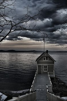Essex, NY Boathouse #3 by philatelicguy, via Flickr