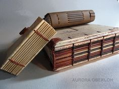 exposed sewing for book spines.. I've already done some. They turned out amazing! -a