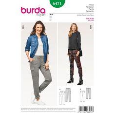 Střih Burda číslo 6471
