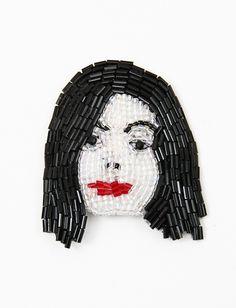 Marianne Batlle Brooches- Michael Jackson