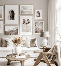 Scandinavian Poster Landscape Canvas Painting Nordic Wall Art Print Beige Nature Picture For Living Room On The Wall Home Decor Home Living Room, Living Room Designs, Living Room Decor, Beige Living Rooms, Gallery Wall Frames, Inspiration Wall, Living Room Pictures, Room Decor Bedroom, Design Bedroom