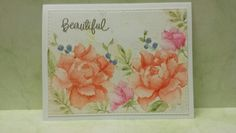 Enjoying Altenew's Peony Bouquet set. This painted with Kuretake Gansai watercolors. This took several hours over a couple of days to finish. That's a lot of time for one card!