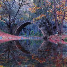 Kelefos Bridge, Cyprus ....by Kyerenian