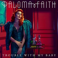 paloma faith album cover - everything about this image is extremely strong from the pose right down to the styling and hair and makeup. we have looked into paloma's style to try and jazz up our 50s look that we want to put hannah in.