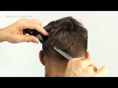 How to fade/cut a mans hair/classic mens haircut Mens Haircut Diy, Classic Mens Haircut, How To Fade Haircut, Trendy Mens Haircuts, Haircuts For Long Hair, Boy Hairstyles, Medium Hairstyles, Wedding Hairstyles, Medium Hair Cuts