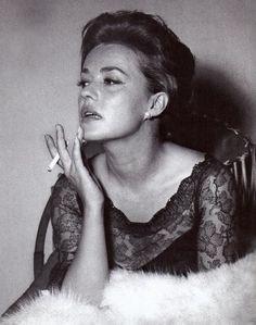 Portrait of Jeanne Moreau, 1960's
