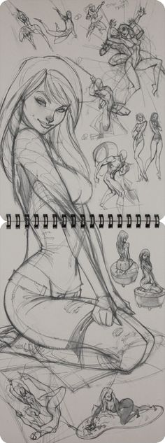 J. Scott Campbell Ruff Stuff 2 Sketchbook