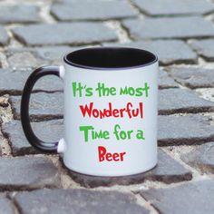 Este cea mai minunata perioada pentru ... o bere!  O replica faimoasa reinterpretata. Wonderful Time, Mugs, Tableware, Dinnerware, Tumblers, Tablewares, Mug, Dishes, Place Settings