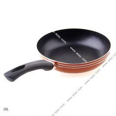 Orange 20cm Non-Stick Induction Base Frying Pan Fried Eggs Kitchen Tools