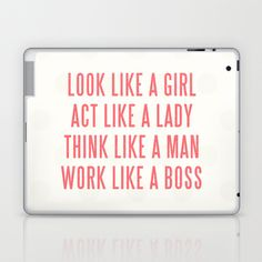 Boss Laptop & iPad Skin by Wesley Bird - $25.00