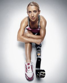 Sarah Reinertsen.... Truly an inspiration. first female leg amputee to complete the iron man. #inspiration #powerfulwomen