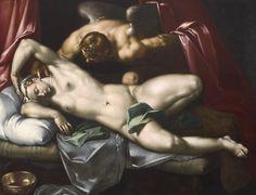 Cupid surprising Psyche at Night, c 1590