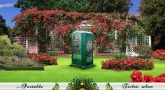 fancy porta potty | The Garden Head Toilette Portable Toilet