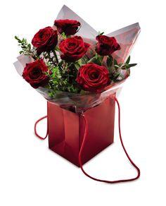 Luxury Valentine's Rose Gift Bag #AldiWishList