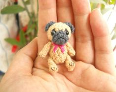 Cairn Terrier Crochet Miniature Dog Stuffed Animals by SuAmi