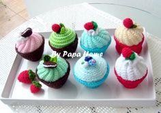 crochet cupcakes - Google Search