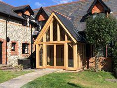 Oak Porches & Enclosed Oak Framed Porches   Hartwood Oak Buildings