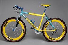 Bmx Bicycle, Mtb Bike, Cycling Bikes, Hardtail Mountain Bike, Mountain Biking, Yeti Mtb, Paint Bike, Retro Bike, Vintage Bikes
