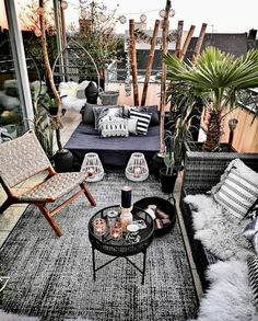 [New] The 10 Best Home Decor Ideas Today (with Pictures) - It's W E E K E N D finally guys! Who else is excited to take time off work? Have a restful weekend fam - - We transform spaces Do give us a call Consultation? Small Balcony Decor, Porch And Balcony, Outdoor Rooms, Outdoor Living, Outdoor Decor, Patio Design, Backyard Patio, Garden, Bedroom Decor