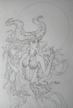 Elune  https://www.instagram.com/ionut.eu/  #worldofwarcraft #warcraft #art #pencil #pencildrawing #elune #moon #sketch #sketchbook #artwork #dryad #nightelf #elf #mothermoon #blackandwhite #black&white #drawing #conceptart #concept
