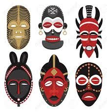 Illustration about This is the second illustration of vector African masks in my portfolio. No transparency and gradients used. Illustration of ethnic, culture, human - 10853855 Arte Tribal, Tribal Art, Tribal Images, African Art Projects, Art Du Monde, Afrique Art, Mask Drawing, Art Premier, Masks Art