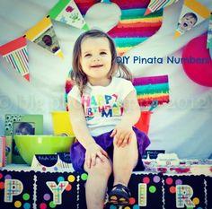 Pinata Style Numbers - Becoming Martha