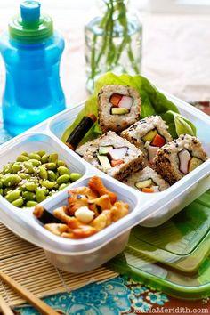 100 Healthy, Delicious & Easy Lunchbox Snacks on FamilyFreshCooking.com © MarlaMeridith #projectlunchbox