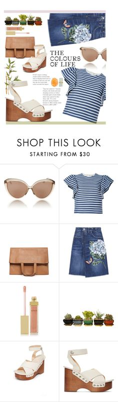 """""""Outfit for BBQ-party"""" by irchikld ❤ liked on Polyvore featuring Linda Farrow, MSGM, Maison Margiela, Dolce&Gabbana, AERIN, rag & bone and Melissa Joy Manning"""