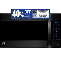 Kenmore Elite 80379 1 8 Cu Ft Over The Range Convection Microwave