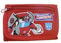 Transformers Wallet - Transformers Trifold Wallet (Red) . $4.98