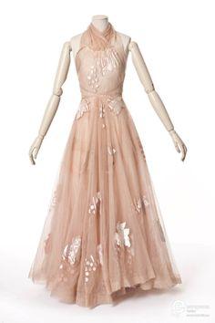 Vionnet evening dress, 1938