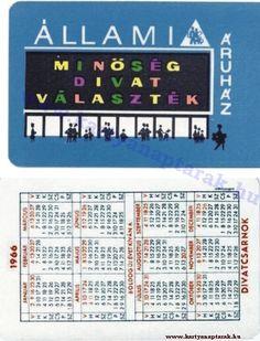 1966 - 1966_0003 - Régi magyar kártyanaptárak