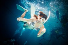 Underwater Portrait by Kyongyong Jung