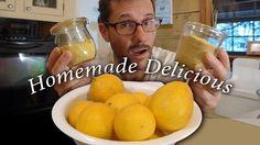 Temporary Monomania: How to Make Lemon Powder - Homemade DIY Seasonings. Spice Blends, Spice Mixes, Pickles, Homemade Lemonade Recipes, Dehydrator Recipes, Dehydrated Food, Backyard Farming, Lemon Lime, Cooking Tips
