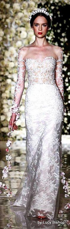 Lucys blog the haute stream...: Reem Acra Fall 2015 ~Bridal