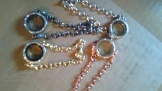 Nice floating locket bracelets.