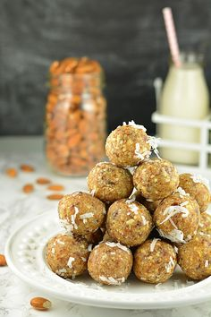 No Cook Apricot Energy Bites, healthy no bake energy bites, apricot bites