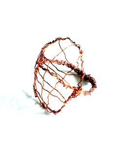 Ring made out of copper wire by Livinglicious Design
