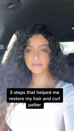 Curly Hair Routine, Curly Hair Tips, Curly Hair Care, Natural Hair Care, Curly Hair Styles, Natural Hair Styles, 3a Hair Tips, Naturally Curly Hairstyles, Curly Hair Products