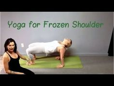 Here are my top 5 yoga moves for frozen shoulder. These yoga moves will help strength, mobility and flexibility in the shoulders and in the surrounding muscl...