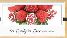 Chocolate Strawberry Arrangement