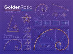 Golden Ratio - - Effective Pictures We Offer You About Sacred Architecture cathedrals A quality picture can tell you many things. You can find the most beautiful pictures that can be presented to you about Sacred Architecture insp Graphisches Design, Graphic Design Tips, Graphic Design Inspiration, Logo Design, Fibonacci Golden Ratio, Fibonacci Spiral, Geometry Art, Sacred Geometry, Geometry Tattoo