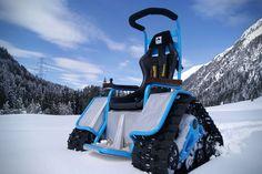 Der Ziesel Electric Tank Wheelchair 2