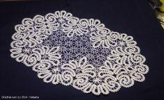 Doily - Vologda bobbin lace