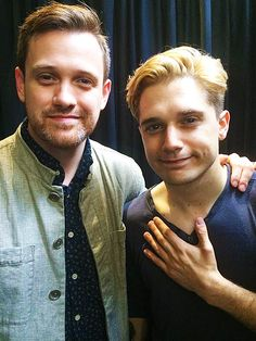 Michael Arden & Andy Mientus- I KNOW THEY'RE A COUPLE. It's a CRUSH