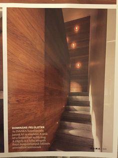 lépcső, világítás