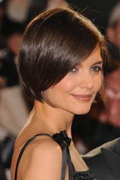 A bob is great at balancing an oblong face-- adding volume between the jawline and forehead.
