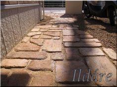 www.kertepites-fabol.eoldal.hu - Képgaléria - kerti járda antik tégla tipegő